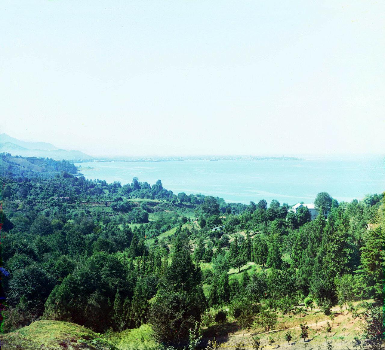 Окрестности Батума.  Чаква. Вид на Батумское побережье