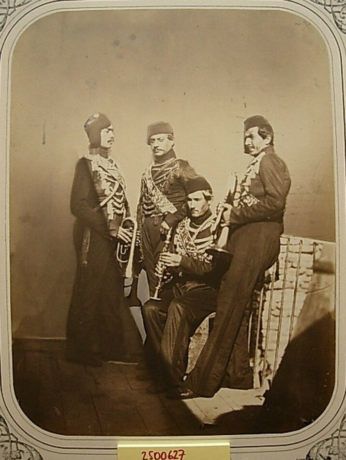 Музыканты турецкой пехоты