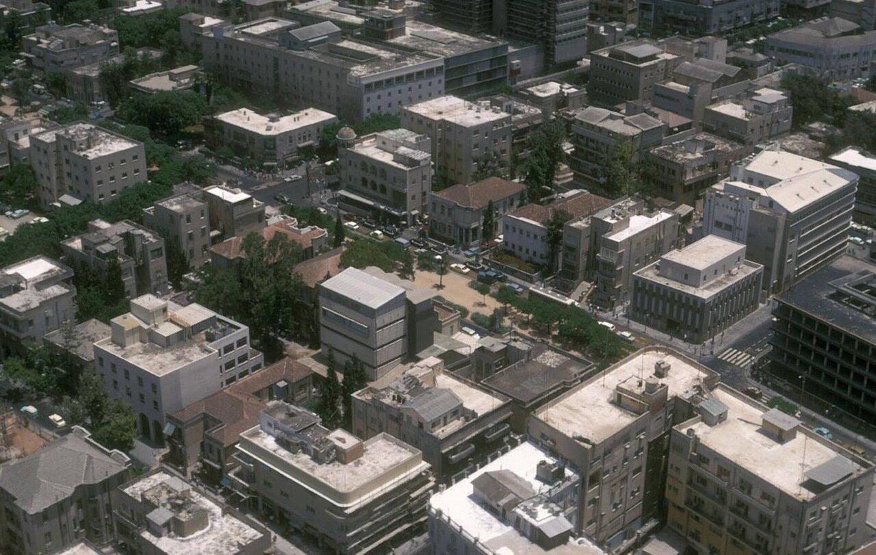 07. Вид на город с небоскреба Шалом Меир