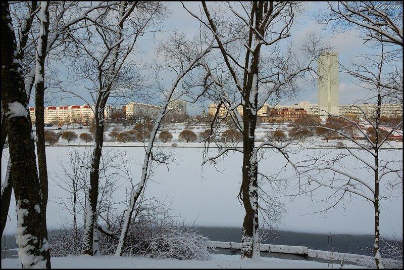 прогулка по зимнему парку
