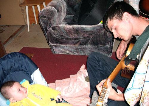 Первые в жизни песни под гитару