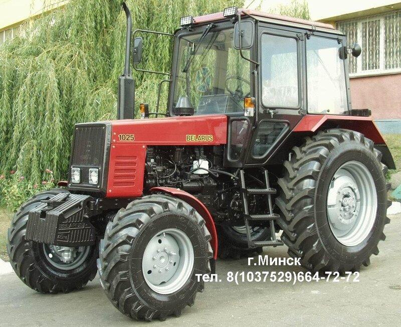 Трактор Беларус-1025 предназначен для...