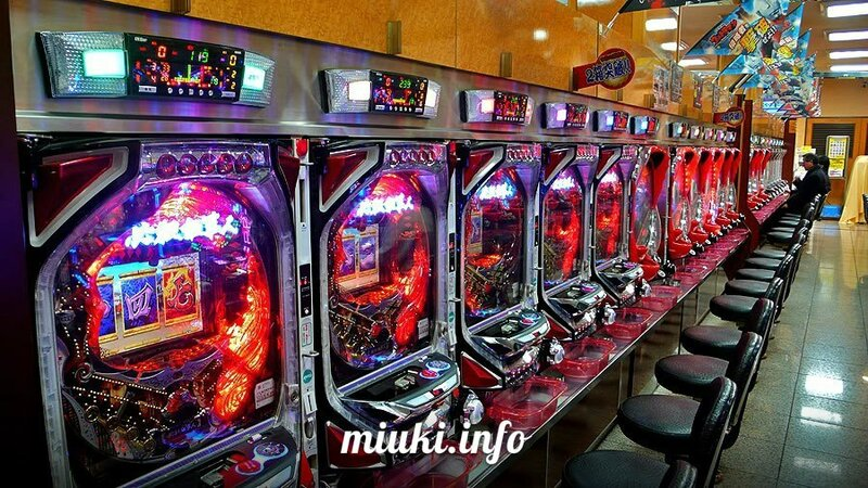 Японский игровой автомат пачинко