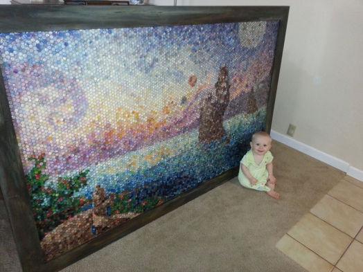 Американская художница делает мозаику из пластилина 0 11e9d5 3ec7bd37 orig