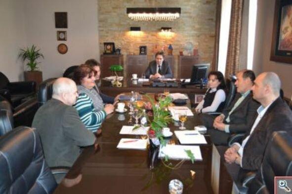 Встреча у мэра Крушевца