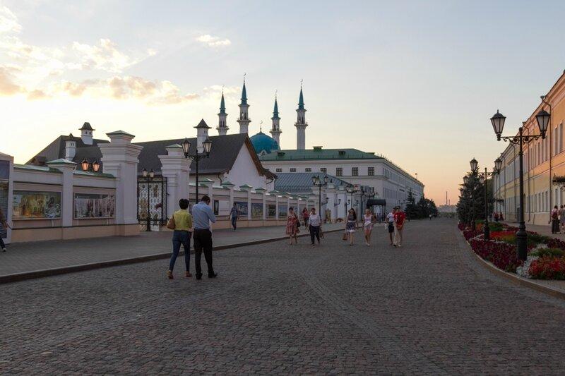 Проезд Шейкмана на территории Казанского кремля