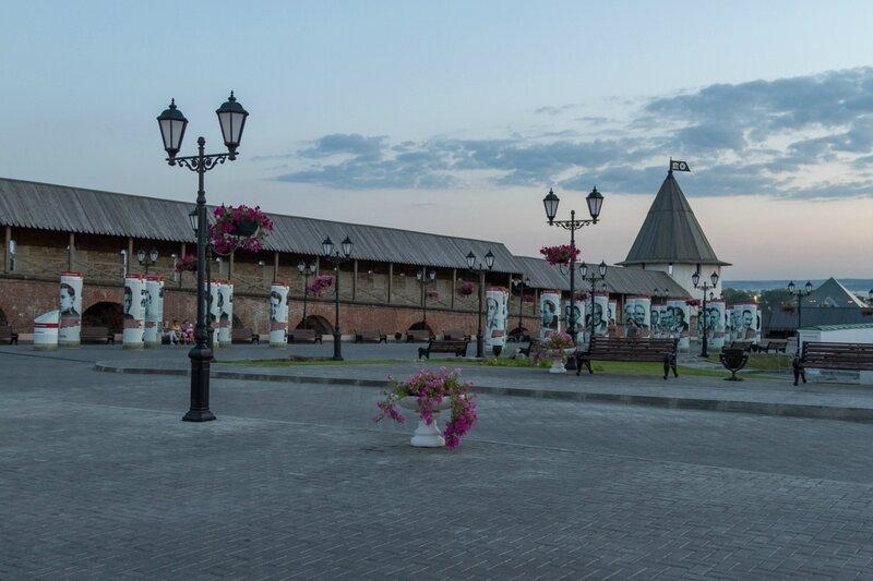 Выставка, Казанский кремль