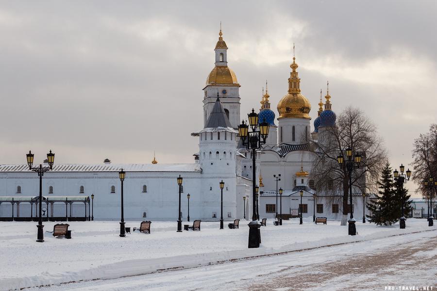 Тобольск. Кремль. Октябрь