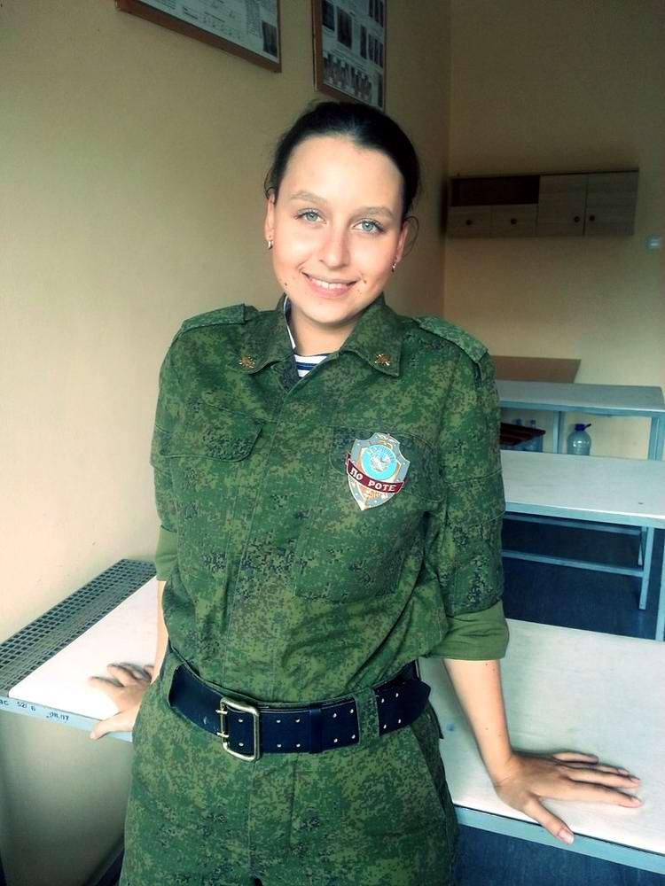 От тайги до британских морей ... : Лица девушек из Российской армии (12)