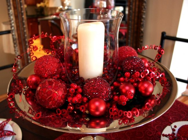 Оформление праздничного стола