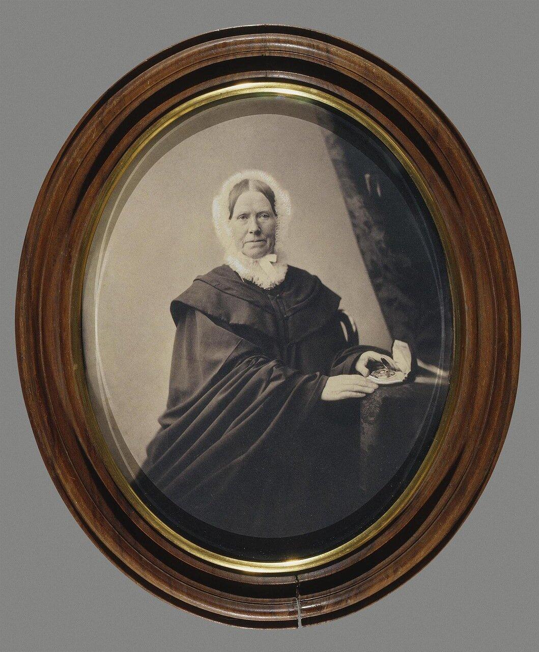 Портрет Мэри (Марии Андреевны) Юз. 1860