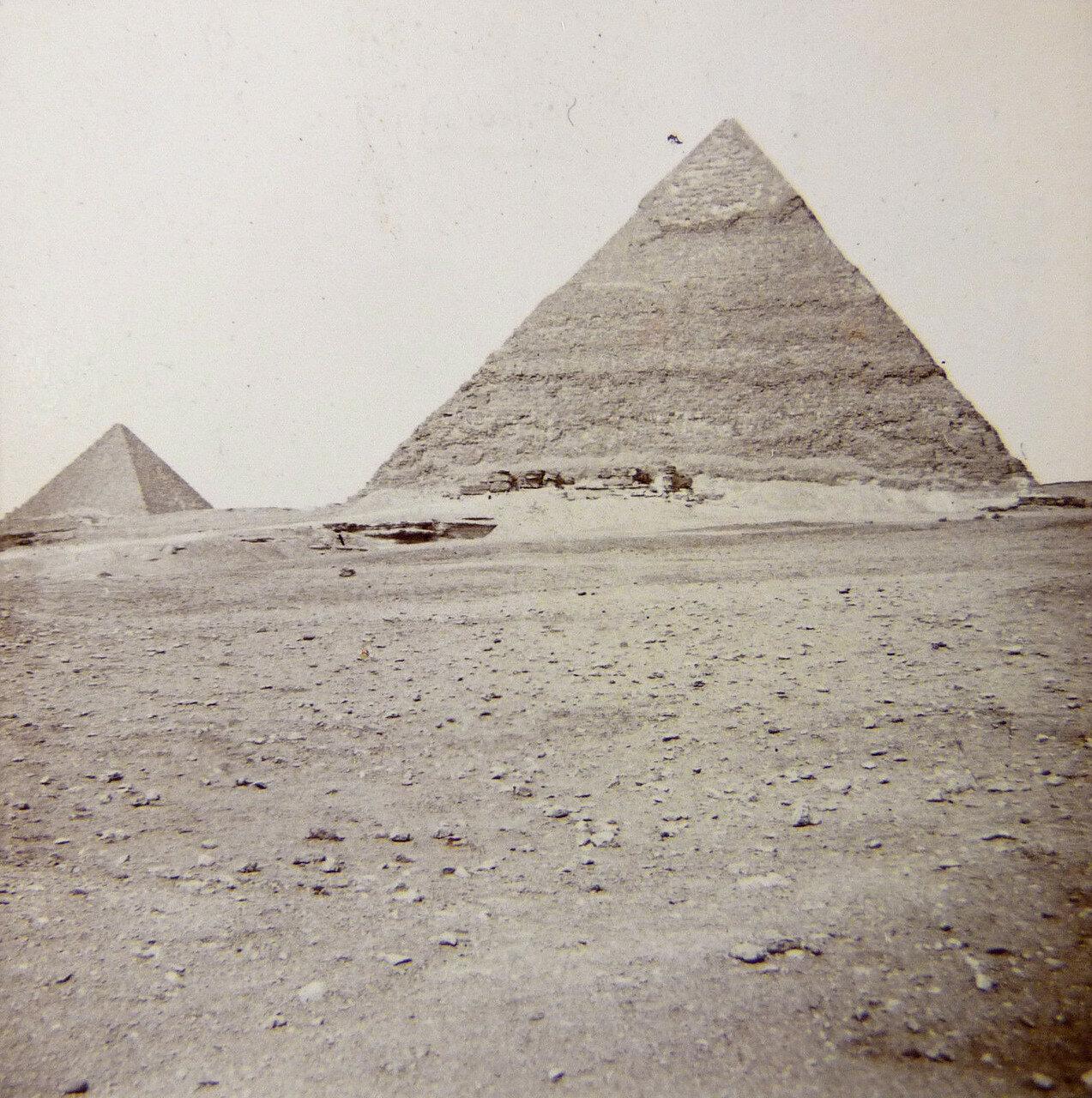 Гиза. Пирамиды. 1912