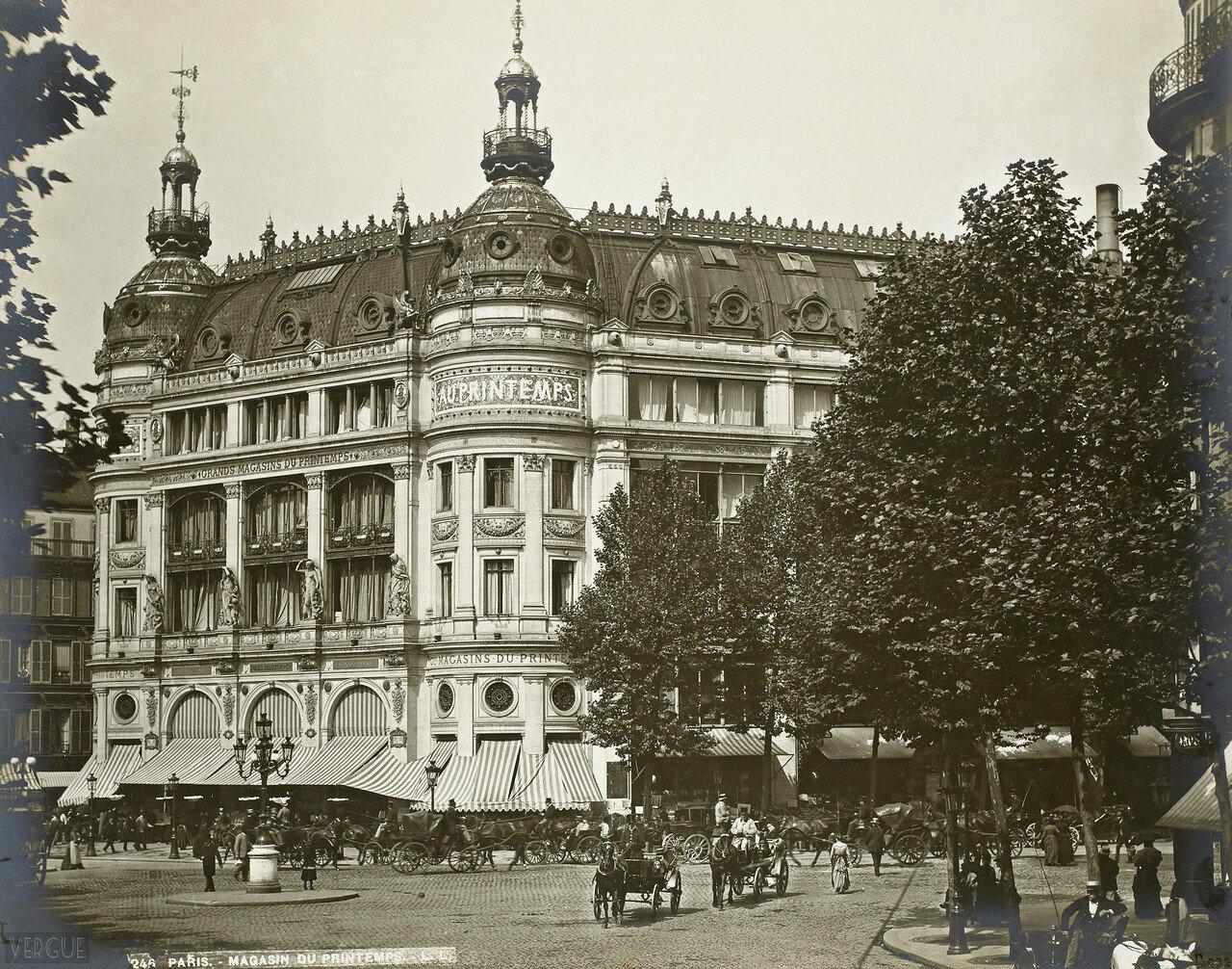 1889. Универмаг Принтемпс
