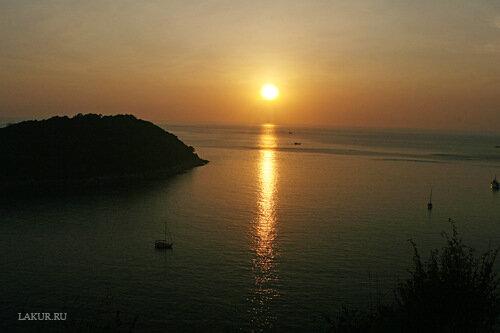 закат море океан горизонт мечта солнце