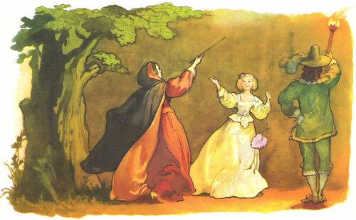 Шарль Перро. Иллюстрации Б.А. Дехтерёва