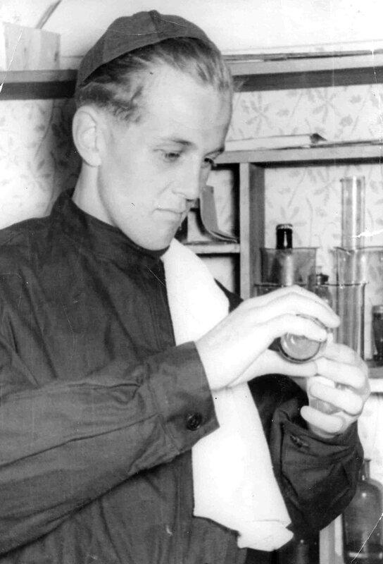 Филателист 1950-1960-х годов.