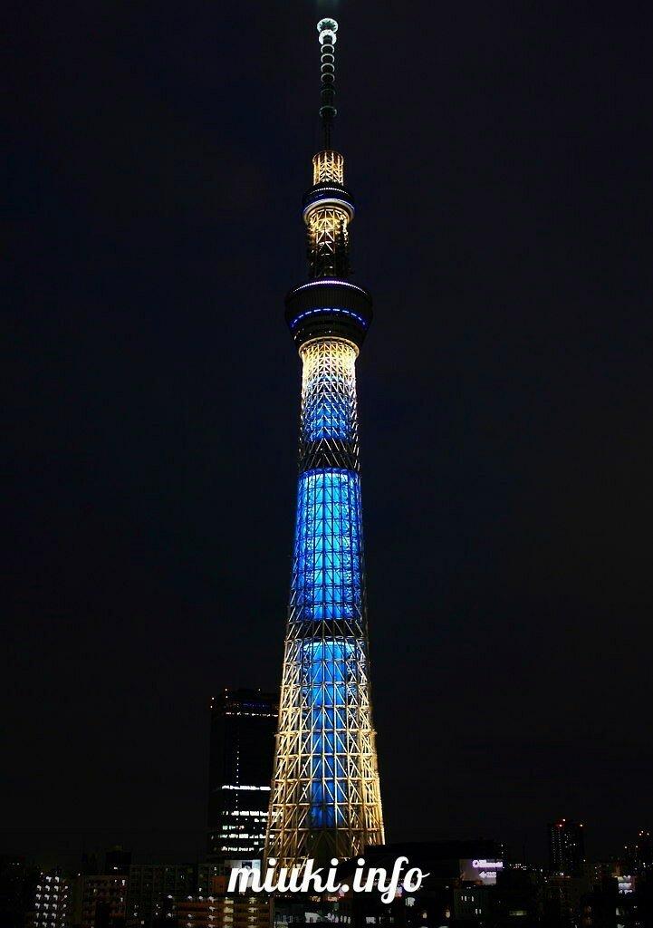 Видео Time-lapse, Токийская телебашня Tokyo Skytree