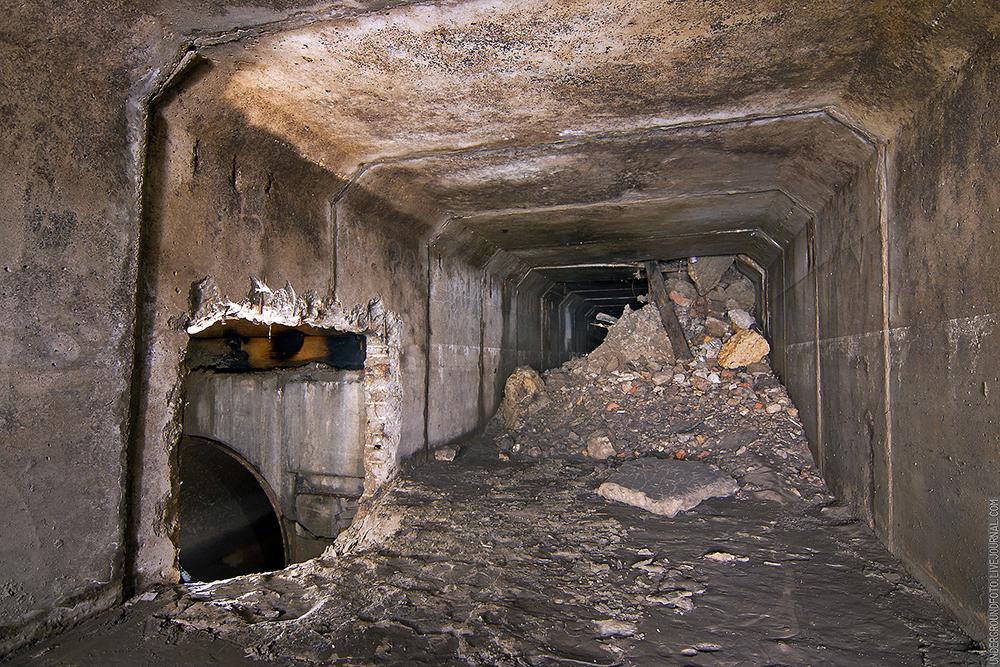 Разрушенный тоннель