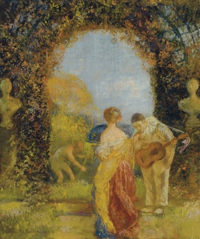 Гастон Ла Туш Gaston La Touche, 1854 — 1913