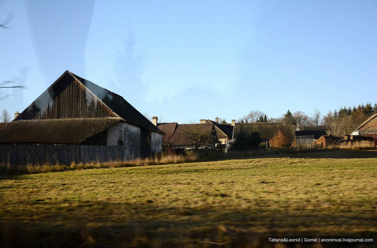 Дорога из Праги в Вену в декабре
