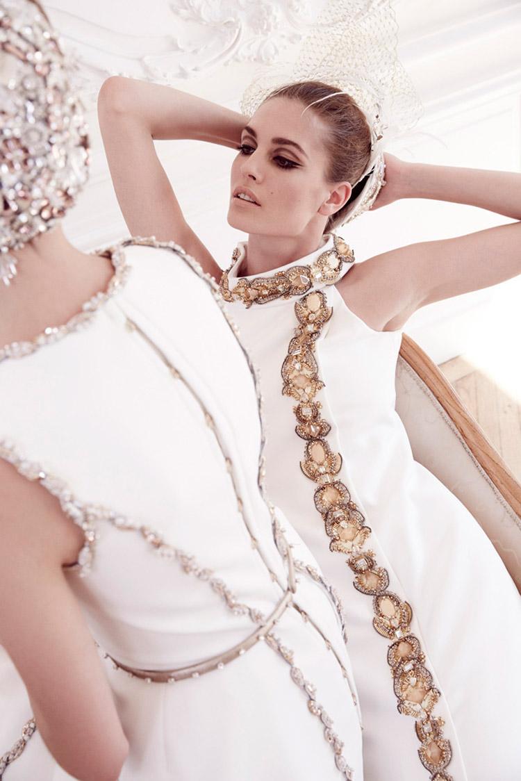 Надя Бендер (Nadja Bender) в журнале Vogue Italia