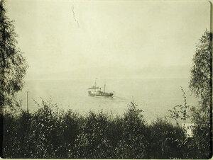 Вид на озеро с берега (вблизи станции). Иркутская губ. Култук ст.