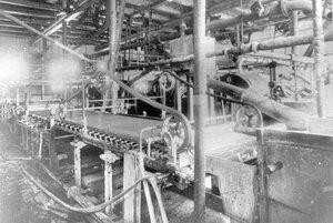 Устройство для отбеленной целлюлозы на заводе.