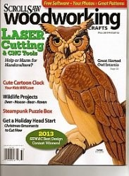 Журнал ScrollSaw Woodworking & Crafts №52 Fall 2013