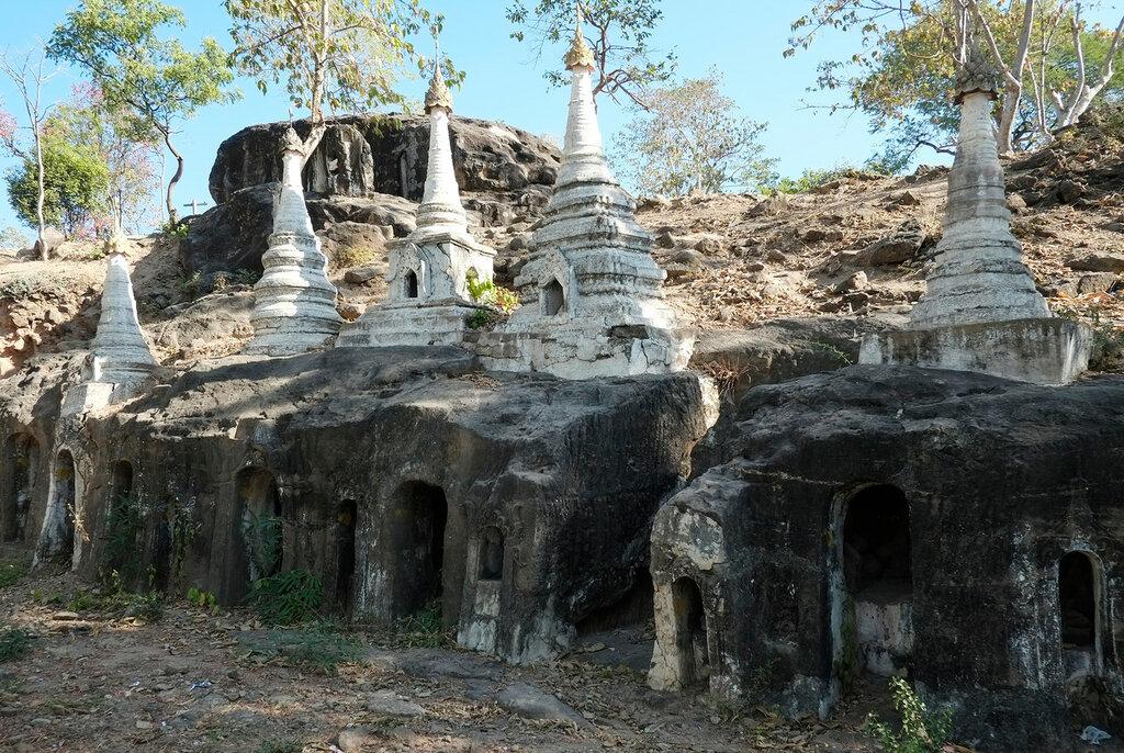 Пещеры Pho Win Taung