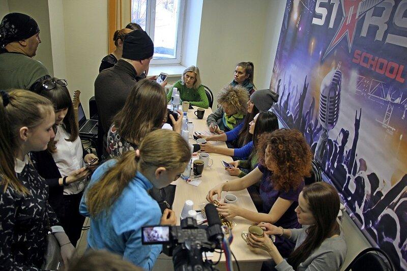 Автограф-сессия арт-группы «Soprano Турецкого» в школе рока Rock Stars school Киров