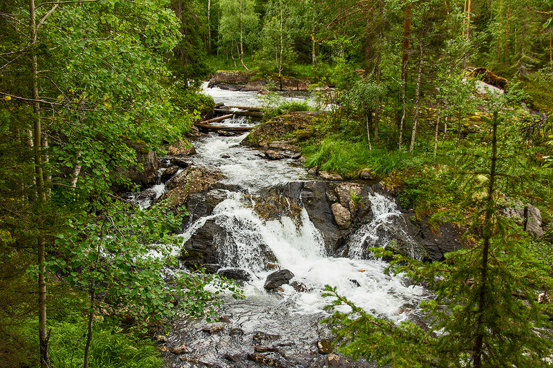 Водопады Куксы