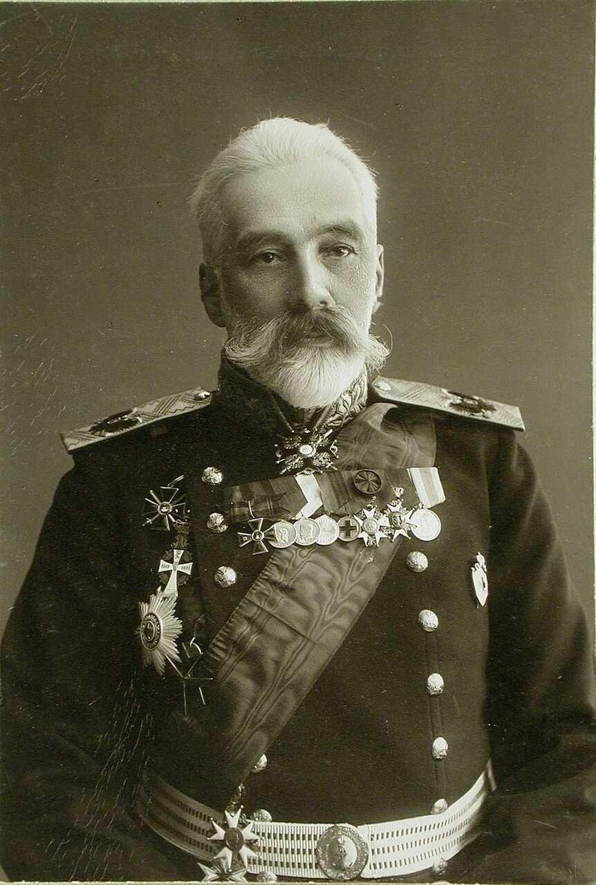 09. Портрет адмирала, генерал-адъютанта И.К. Григоровича - морского министра