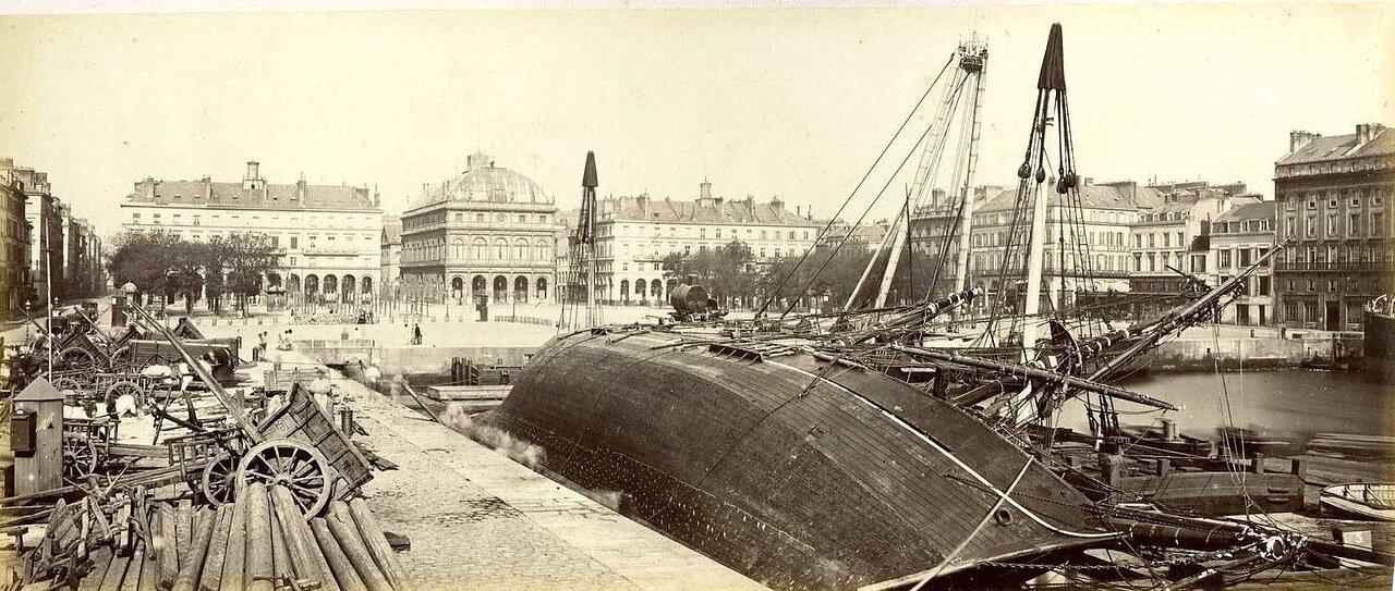 1890. Гавр. Площадь Людовика XVI