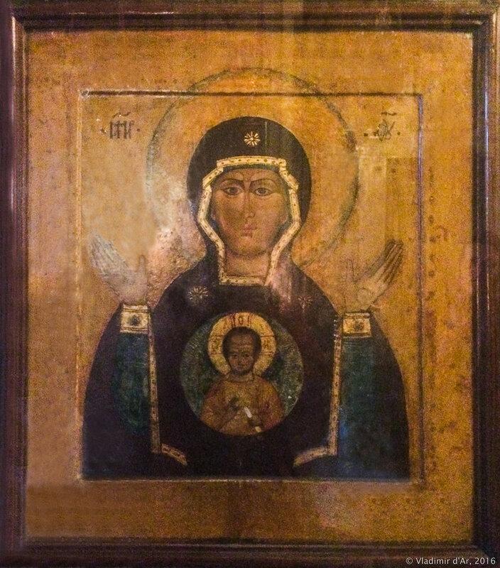 Икона Божией Матери «Знамение». Храм в честь иконы Божией Матери «Знамение» в Переяславской слободе.