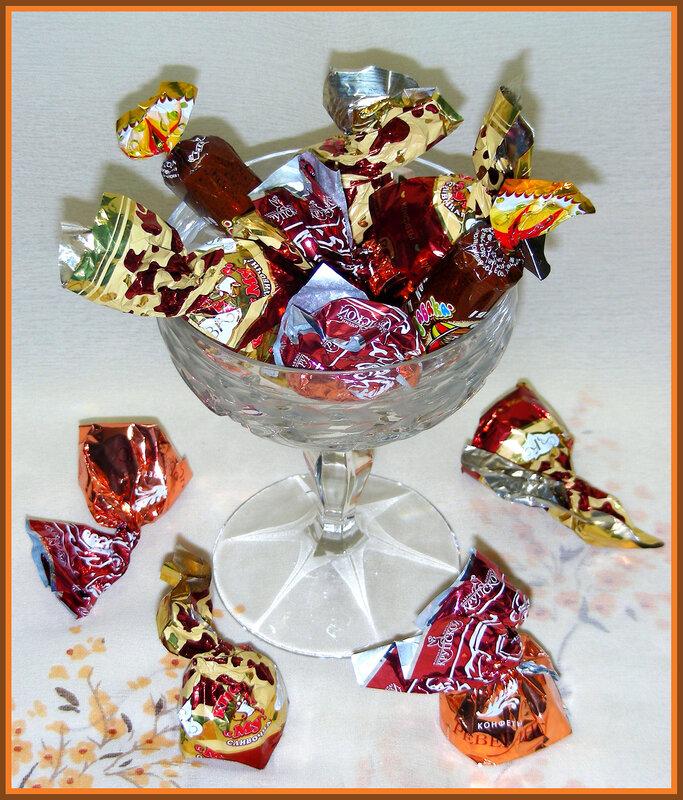 неважно, какой картинки конфетницы с конфетами как