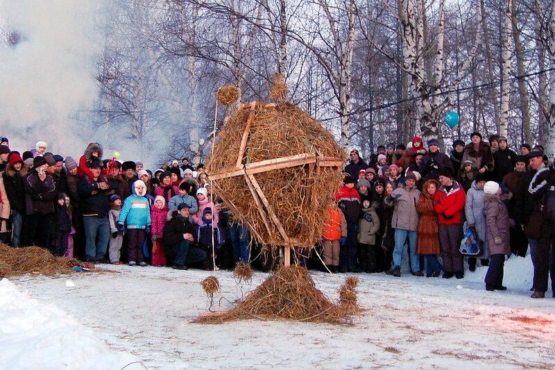 """Городской конкурс огненных скульптур """"Пламенное искусство"""""""