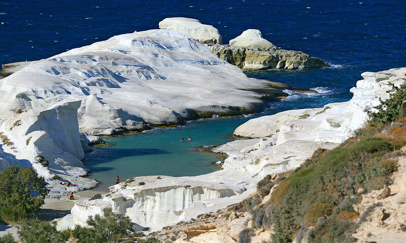 милос острова греции фото отзывы