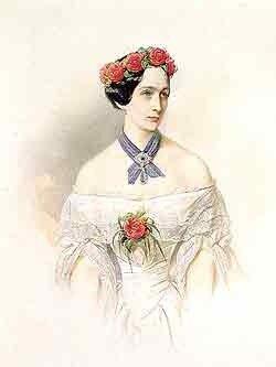 И.К. Макаров Наталья Николаевна Ланская 1849 г.