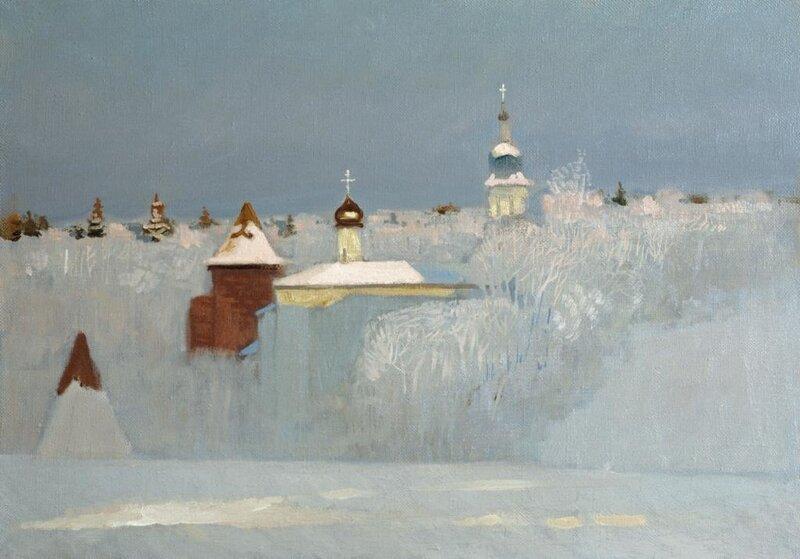Анохин Н. Русская зима