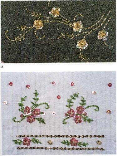 узоры вышивки бисером