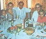 Мистер Путин с семьей