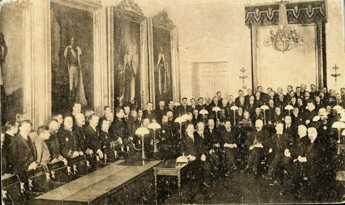 Присяга Временного правительства в Петрограде