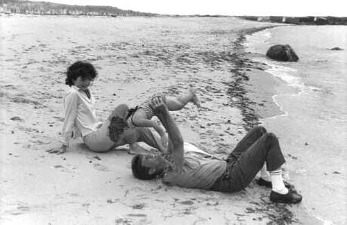 Джон, Жаклин и Керолайн Кеннеди, 1960 г.