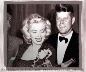 Монро и Кеннеди