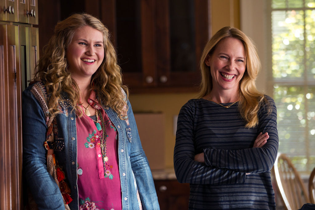 "Jillian Bell, left, and Amy Ryan in Columbia Pictures' ""Goosebumps,"" starring Jack Black. - Goosebumps"