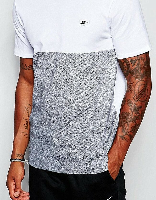 Идеи переделки Стильная мужская футболка