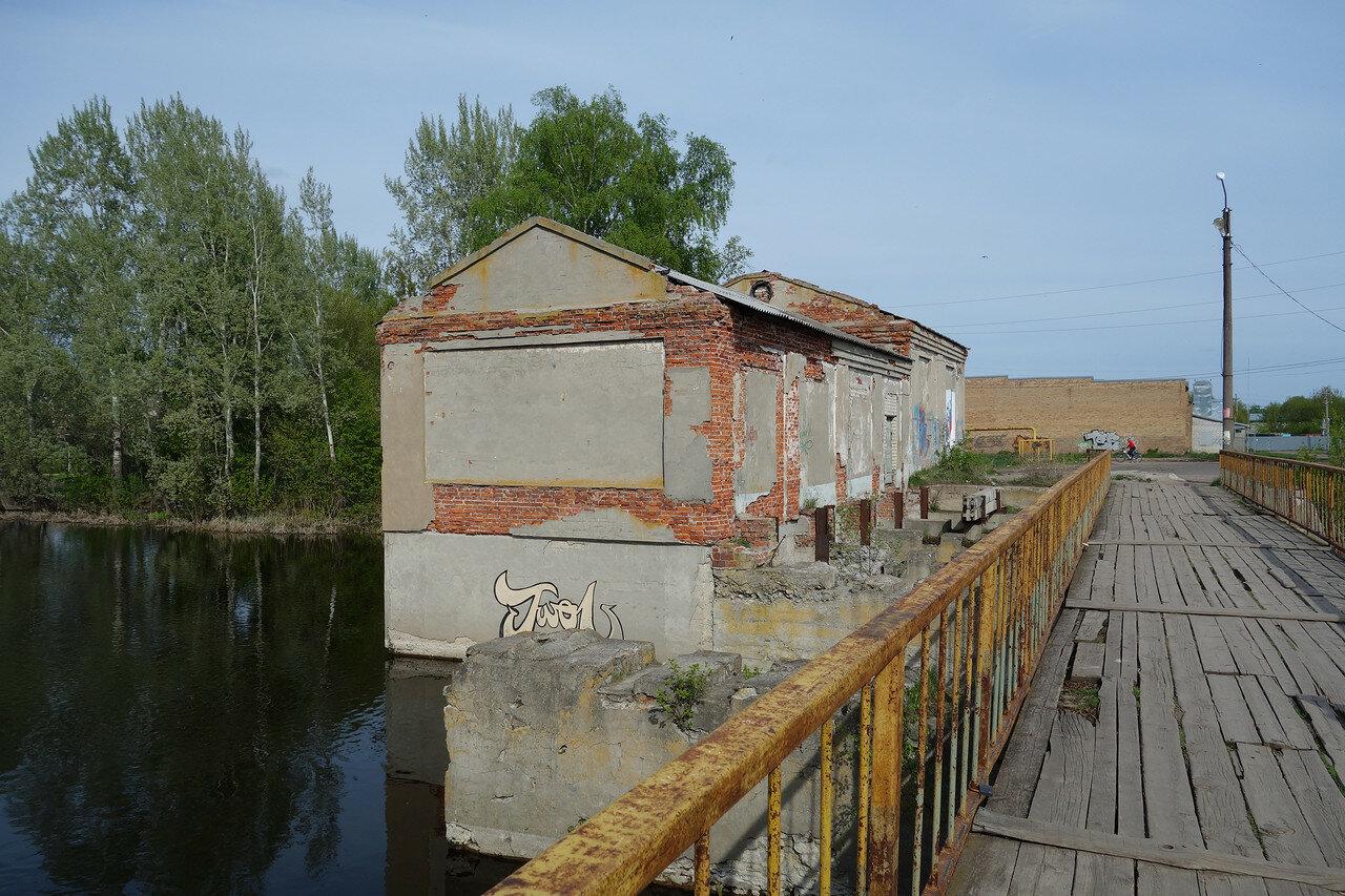 здание бывшей малой ГЭС