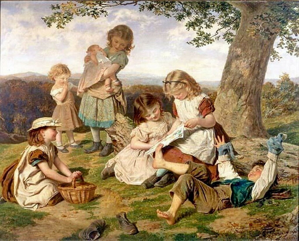 """The Children's Storybook"". Софи Жанжамбр Андерсон (1823- 1903)"