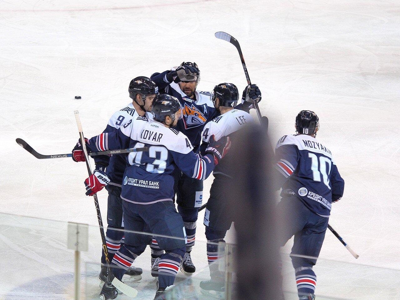 65Восток 1/2 плей-офф Металлург - Сибирь 08.03.2016