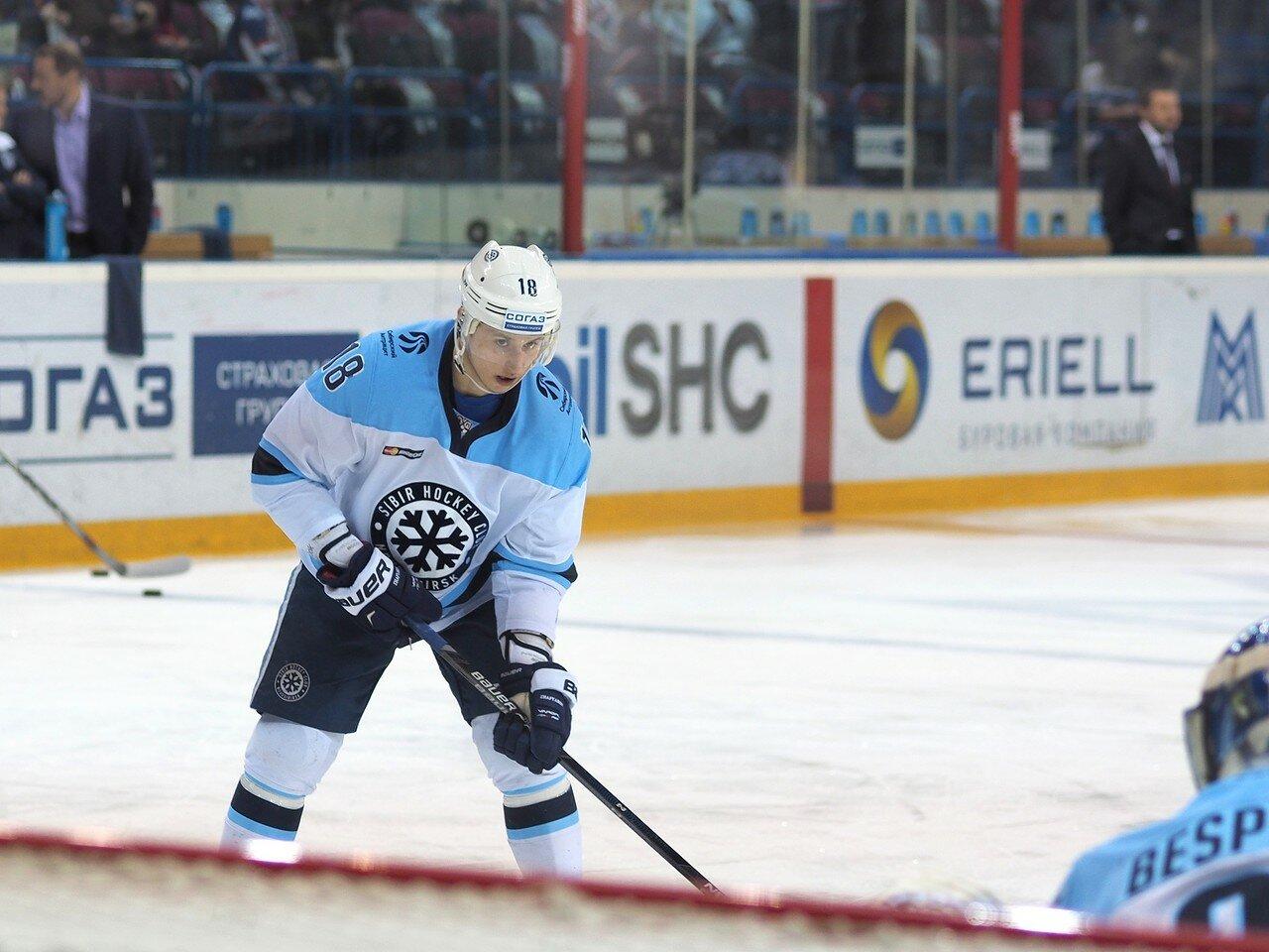 6Плей-офф 2016 Восток 1/2 Металлург - Сибирь 16.03.2016
